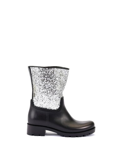 Esem ESEM B0020 Yağmur Botu Kadın Ayakkabı  Gümüş